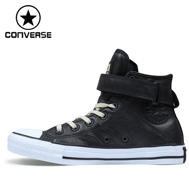 58a67ea084d4f3 Original New Arrival Converse Brea Women  Skateboarding Shoes Leather  Sneakers