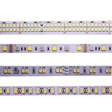 LED רצועת 5M 2835 5730 5050 5054 RGB CCT RGBCCT RGBWW RGBW חם לבן 60/120/240 /480 LED 4in1 12V 24V קלטת אור רצועות גמיש
