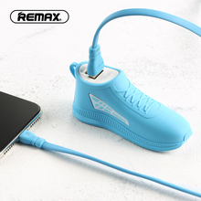 REMAX fashion explosion models original mobile power 2500mah portable charger silicone cute shoes external battery mobile power