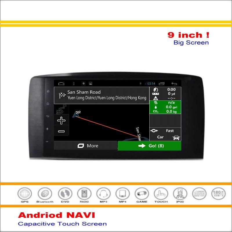 Android GPS del coche Sistema de Navegación Para Mercedes Benz R300 R320 R350 R2