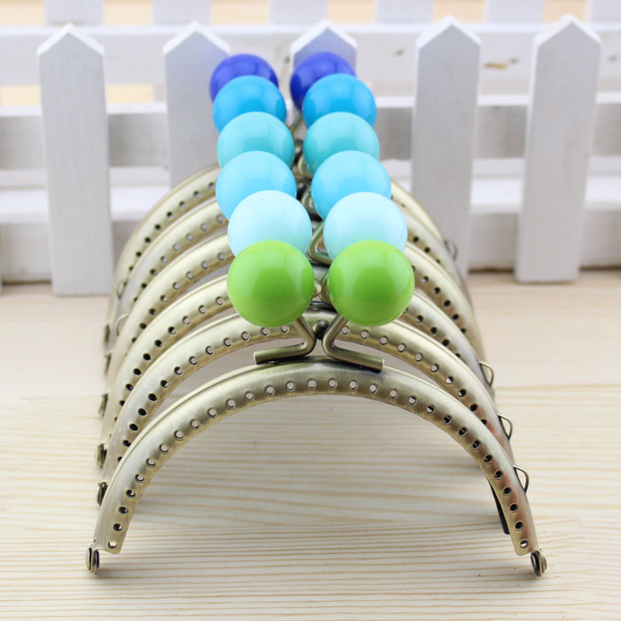 online shop c5 semicircle arc 105cm large bead antique brass metal purse frame kiss claspthicken diy quilt coin purse frames bag 5pcslot aliexpress - Metal Purse Frames