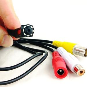Image 3 - 1080P Mini AHD Sicherheit Kamera mit 8PCS 940nm IR LEDs Nachtsicht indoor CCTV Video Audio Kamera Für HD AHD DVR System