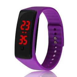 Повседневное силиконовый ремешок для часов relogio masculino простые спортивные часы для Мужская мода Led мужские часы Открытый цифровой relojes hombre