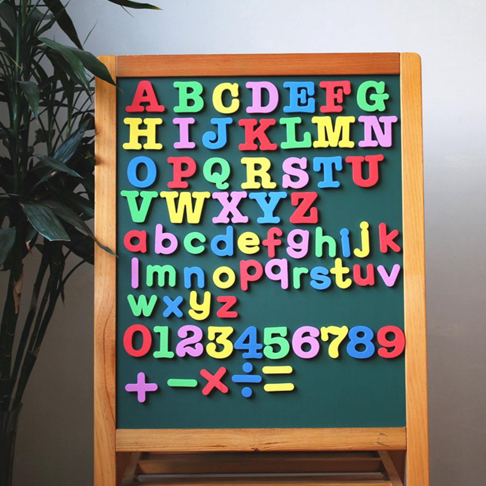 Alphabet Magnetic Letter Number Fridge Magnets Stickers Baby Education Kids Toys For Children