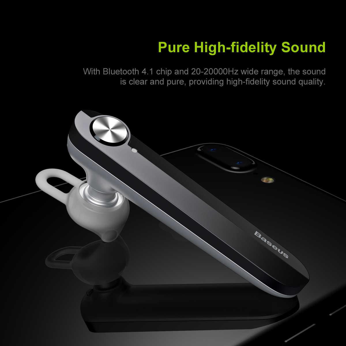 Baseus A01 bezprzewodowy zestaw słuchawkowy Bluetooth słuchawki V4.1 Bluetooth słuchawki z mikrofonem słuchawka do telefonu Fone De Ouvido