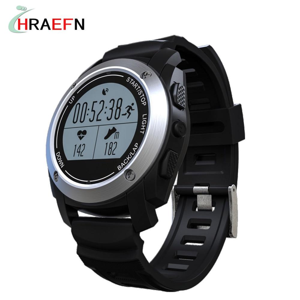 все цены на Hraefn S928 GPS Smart Band Heart Rate Height Race Monitor Speed Outdoor Fitness Tracker bluetooth SmartBand sport Running Watch онлайн