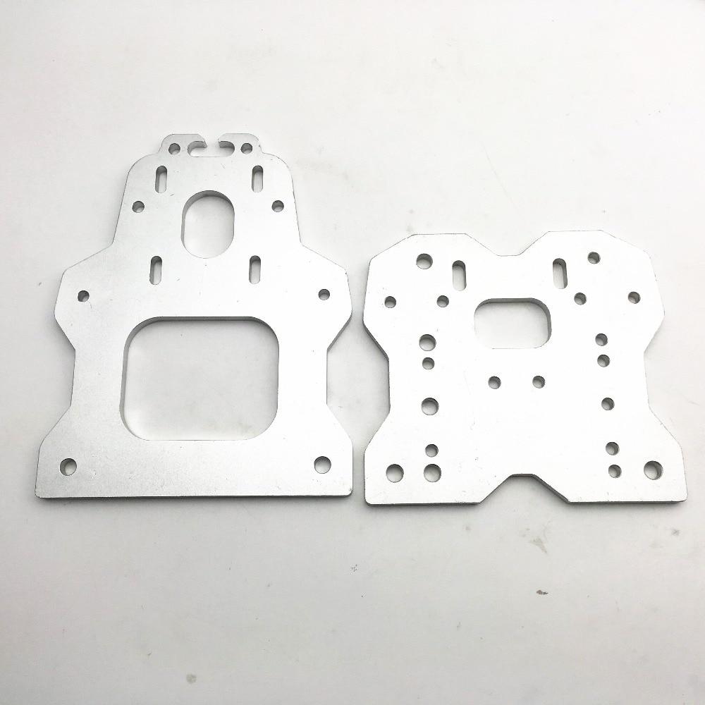 все цены на Funssor aluminum alloy OX CNC Gantry Plate Set Openbuilds OX CNC ROUTER KIT v-slot 6mm thickness Fast Ship онлайн