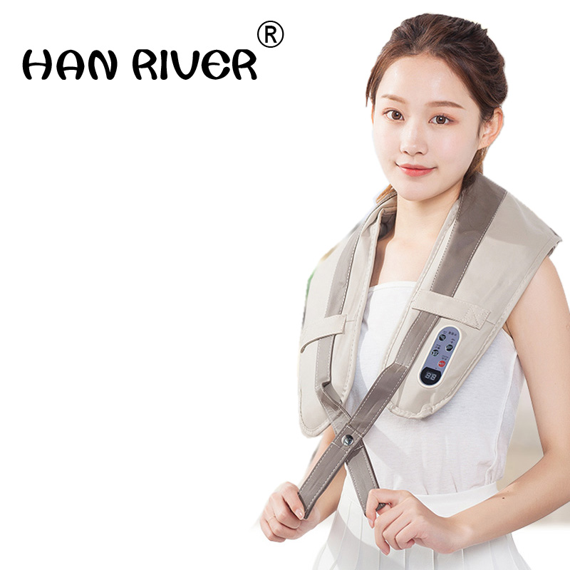 2018 New Arrival Electric Massage Machine Shoulder Neck Massage Shawl Factory Sale Electric Muscle Stimulator Massage Tool