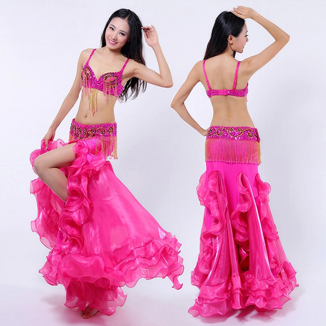 f7ef49af2ee high quality Egyptian style Belly Dance tribal Costumes Sets Sexy  Professional Tribal Belly Dancing Outfits Clothes