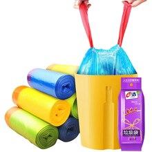 Автоматический закрывающийся мешок для мусора, утолщенный, герметичный, одноразовый пластиковый пакет, бытовая кухонная Чистка мусора, мешок для хранения
