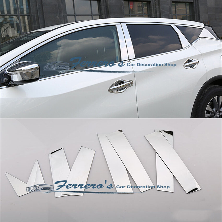 2017 Nissan Murano Exterior: Free Shipping Car Styling Stickers For 2015 2017 Nissan