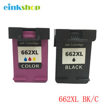 2PK For HP 662 Black & Tri-color Compatible Ink Cartridge 662XL Deskjet 1015 1515 2515 2545 2645 3545 Printer