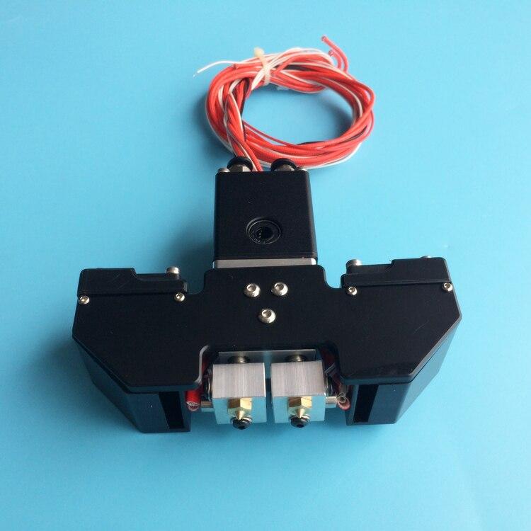 A Funssor UM2+ Ultimaker 2 3D printer accessories cross slider Chimera 2-colors outet hotend print head full kit Fast ship