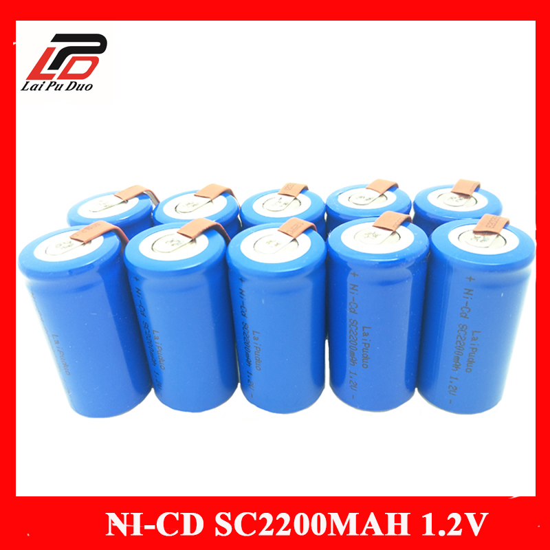 NI-CD 2200mah 1.2v 4.25*2.2cm Rechargeable batteries Power Tools Batteria 15A for HITACHI for bosch for dewalt MAKITA