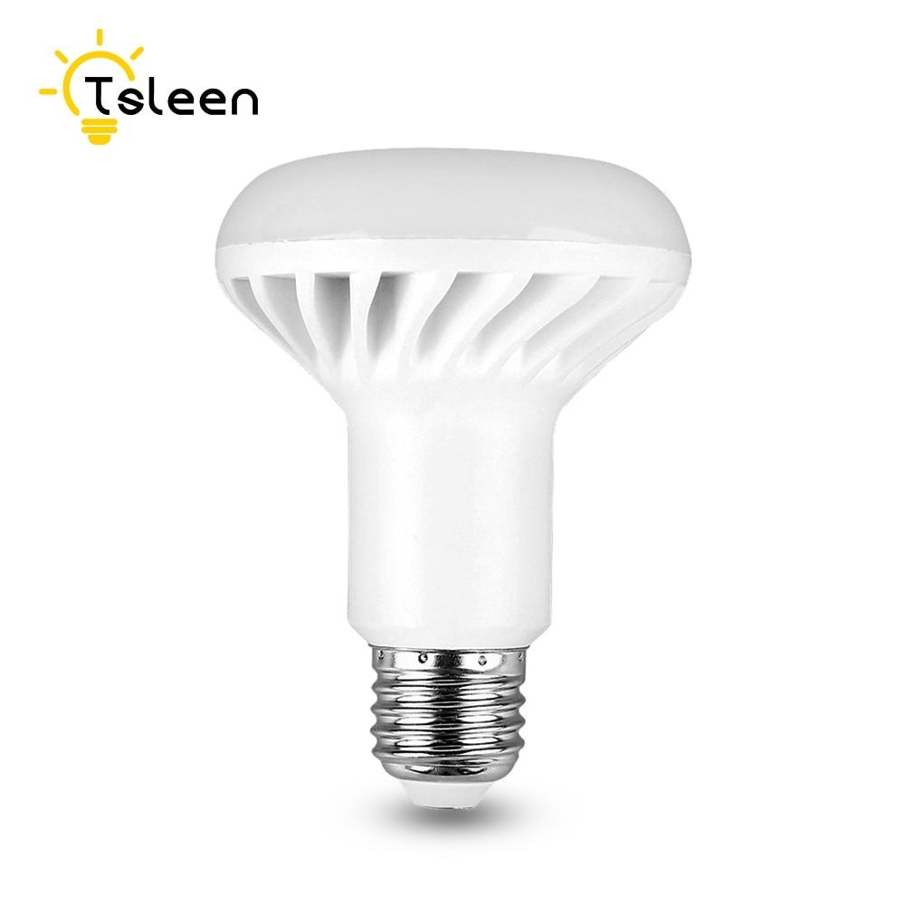 TSLEEN Evergy Saving R39 R50 R63 R80 LED Lamp Replacement Bulb Reflector Light E27 E14 Screw Bombillas Led Mushroom Bulbs led light bulb r50 r63 r80 e14 e27 b22 5w 7w 9w 5730smd reflector light lamp bulb pure warm natural white lighting ac85 265v