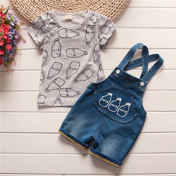 510df790c43f Dropwow BibiCola Summer Baby Boy Clothes Set Children Clothing Sets ...