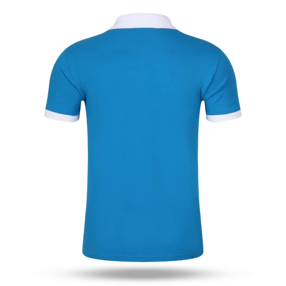 Accept Custom Diy Logo 2017 New Mens Polo Shirt Men Cotton Short