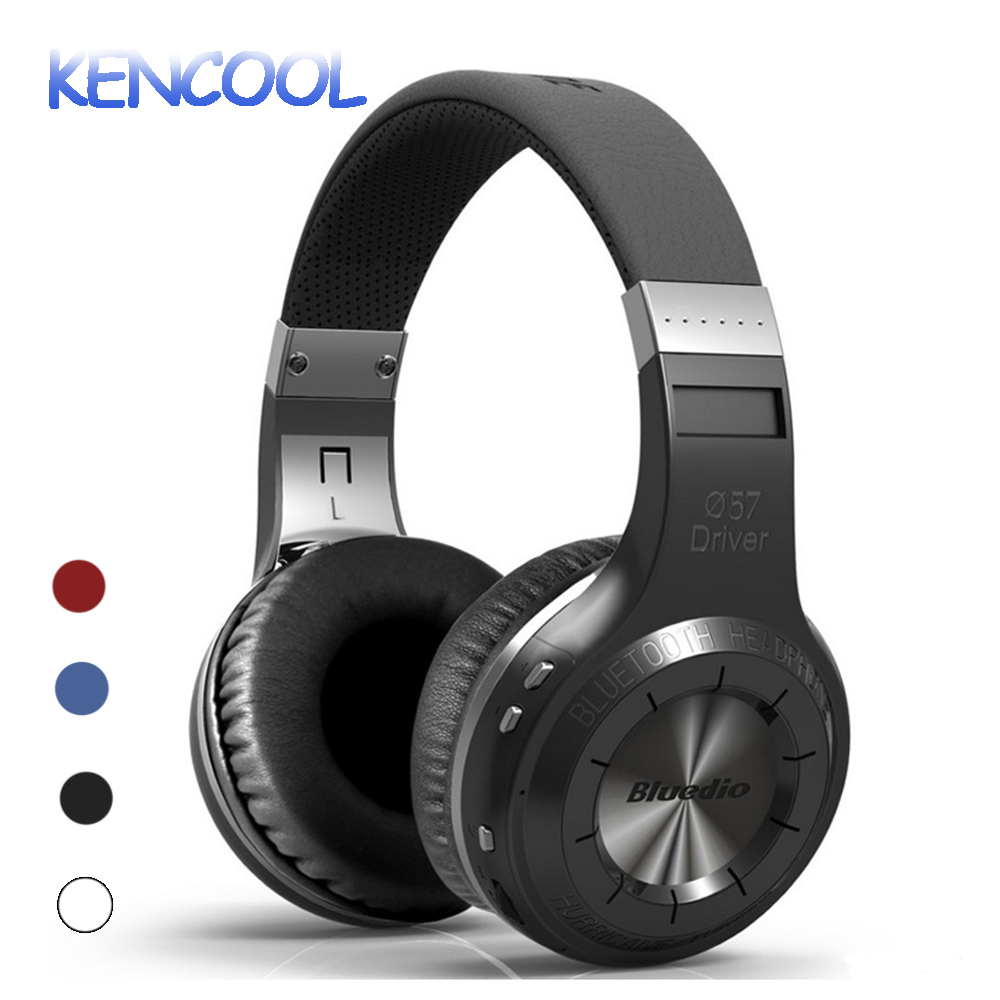KENCOOL V4.1 Bluetooth Headphones with Mic Over Ear Wireless Bluetooth On-Ear Stereo Earphones Noise Cancelling Soft Earmuffs