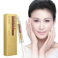 Hyaluronic Acid Injection Face Serum Liquid Tights Anti-Wrinkle Anti Aging Collagen Facail Essence Moisturizing essence 24K gold Health & Beauty