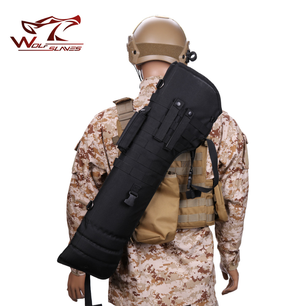 Outdoor Riding Camping Single Shoulder Bag Tactical Military Rifle Long Carry Bag Scabbard Gun Adjustable Hunting Cross Bags