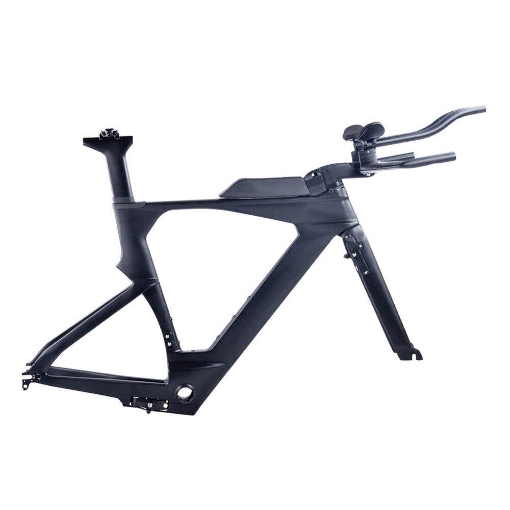 HTB1kQwooHsTMeJjy1zcq6xAgXXaR - 2018 New Di2 Carbon TimeTrial Triathlon Frame 700C Ultralight Carbon Carbon TT Bike Frames OEM Carbon TT Bicycle Frameset