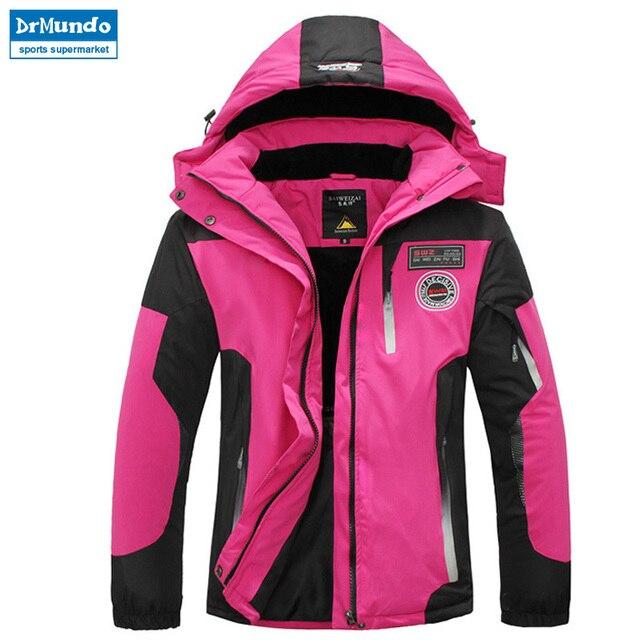 Chaqueta de esquí mujeres impermeable chaqueta de nieve de invierno abrigo  térmico para la montaña al 20f4d47578c5