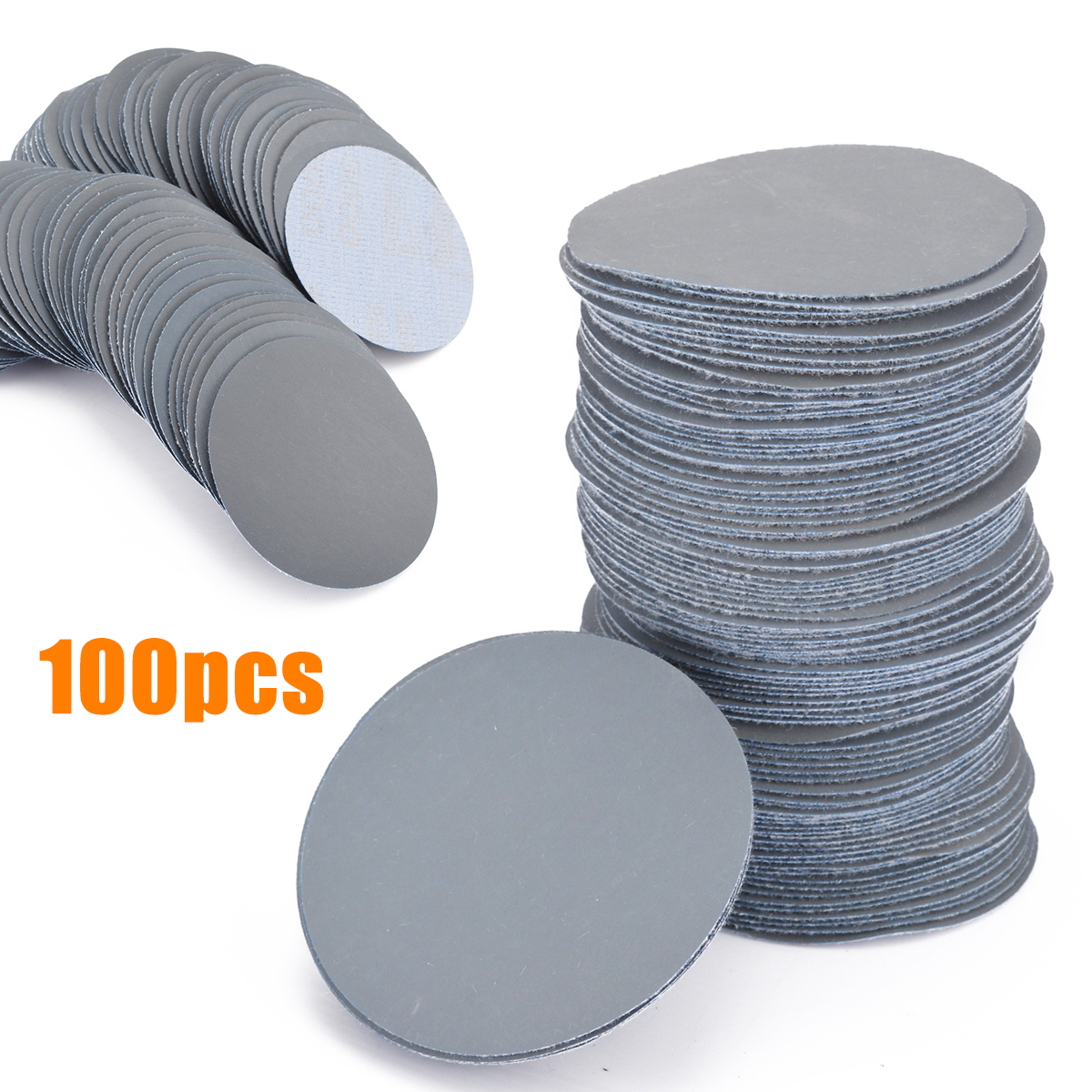100pcs Sander Discs 3inch/75mm 3000 Grit Sander Discs Sanding Cleaning Polishing Pads Sandpaper Set
