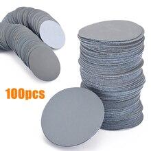 100pcs Sander Discs 3inch/75mm 3000 Grit Sanding Cleaning Polishing Pads Sandpaper Set