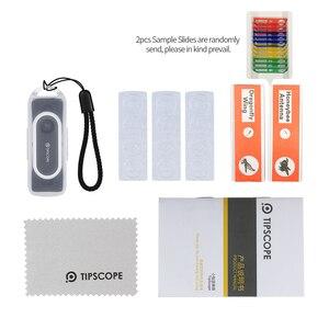 Image 5 - Tipscope מיני 20x 400X מיקרוסקופ עבור האוניברסלי Andriod IOS טלפונים חכמים זכוכית מגדלת הגדלה עדשת מתנות עבור ילד חוקר