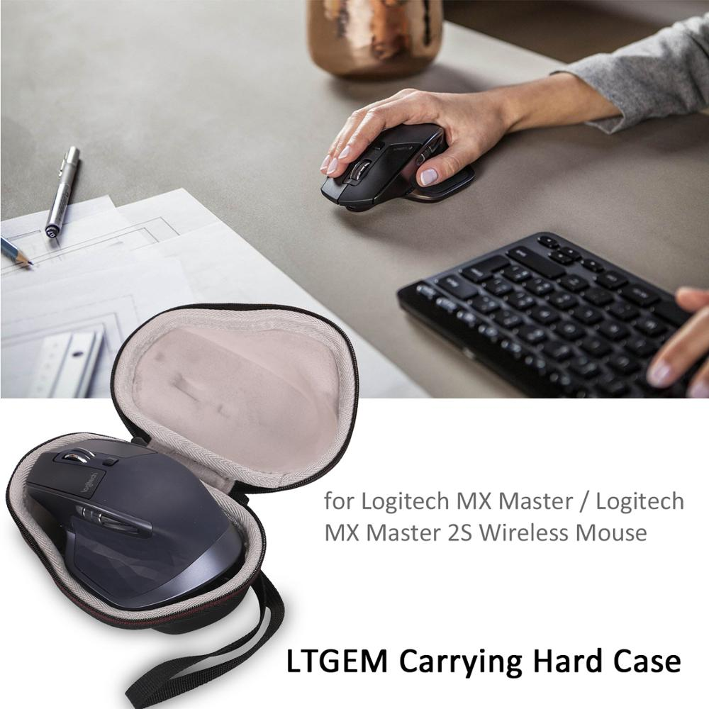 LTGEM EVA Hard Travel Carrying Protective Case Carrying Pouch Cover Bag For Logitech MX Master/2S Mouse