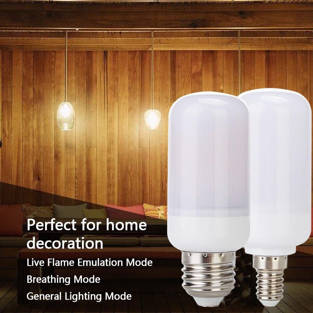 Lâmpadas Led e Tubos w emulação de cintilação chama Tipo : Led Fire Bulbs Lights