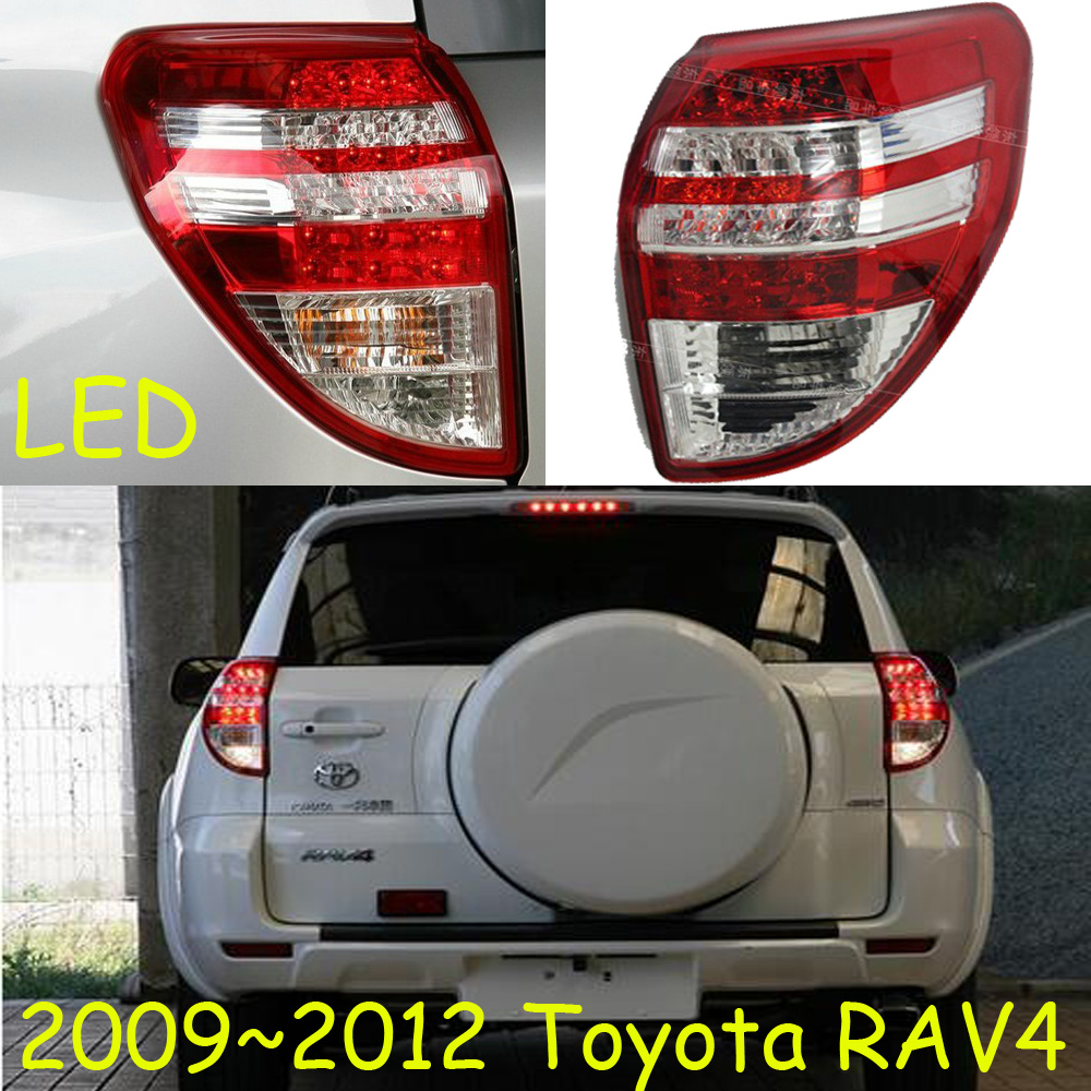 RAV4 taillight,2009~2012;Free ship!LED,RAV4 rear light,Red/Black color optional,RAV4 fog light;Carmy,prado,Crown,RAV 4 распорка kf3 kx f3 rav 4 rav4