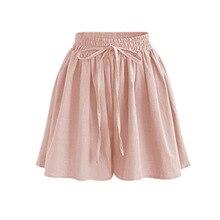 Summer Women Shorts High Waist Loose Chiffon Shorts Plus Size 6XL Female Slacks Large Size Shorts 8001