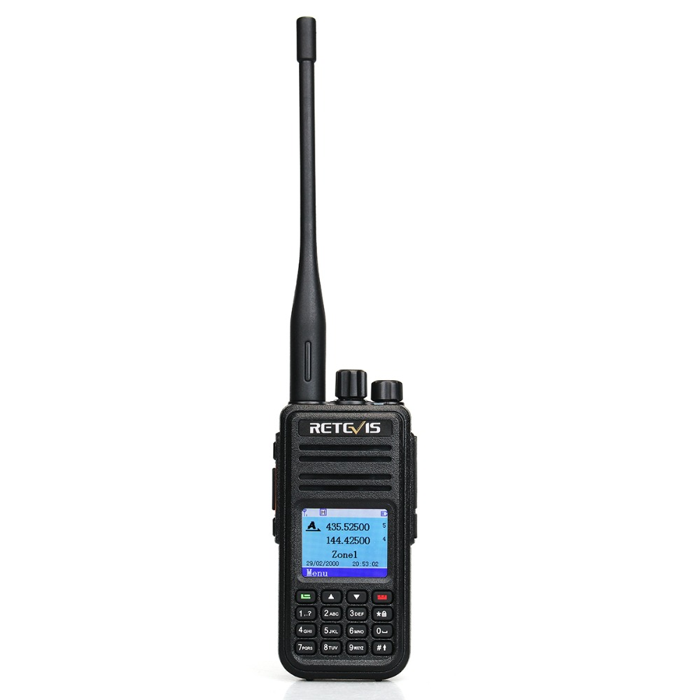 Retevis RT3S Dual Band DMR Цифровий Walkie Talkie - Рації - фото 2
