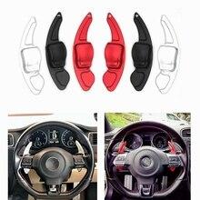 Auto Zubehör lenkrad schaltwippe Für VW Tiguan Golf 6 MK5 MK6 Jetta GTI R20 R36 CC Scirocco Shifter erweiterung