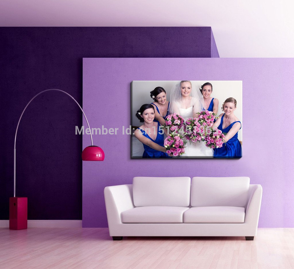 Photo on Canvas Prints Your Image Turn Into Canvas Art Print - Size 16x20 ready to Hang on Wall Custom Canvas Prints, canvas photo prints-1