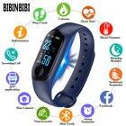 <+>  Цифровые Часы Мужчины Женщины умные наручные часы Артериальное Давление Сон монитор сердечного ритма ★