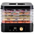 Бытовой Дегидратор для пищевых продуктов D2 машина для сушеных фруктов многофункциональная машина для сушки фруктов/овощей/мяса 5-слойная м...