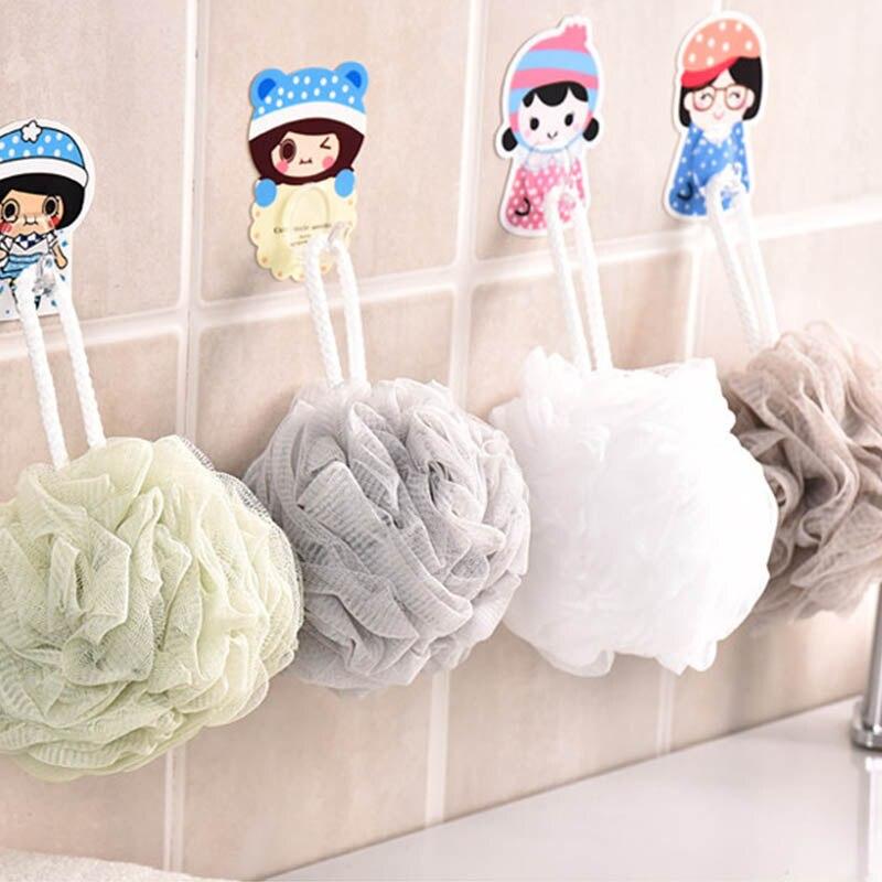 Loofah Bath Ball Mesh Sponge 1 PC Milk Shower Accessories Bathroom Supplies PE Bath Flower Soft 1