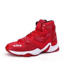 Basquete шнурках верха нескользящей корзина дышащие homme баскетбол обучение воздуха спортивная