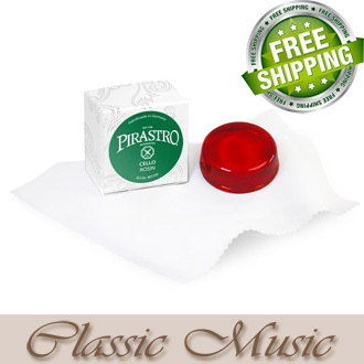 Freeshipping! Free shipping ! Pirastro Cello Rosin (901100) for Cello , Made in Germany