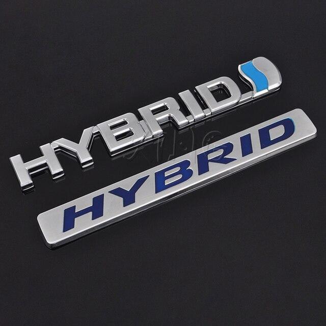 Exquisite Car Sticker Auto Emblem Reing Badge Decal For Hybrid Logo Toyota Camry Rav4 Reiz Lexus Bmw Audi Honda Accessories