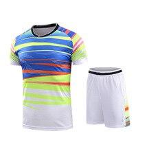 Китайский костюм для бадминтона, Мужская/женская рубашка для бадминтона, спортивная одежда для спортсмена, Теннисный спортивный костюм, костюм для настольного тенниса, комплекты для пинг-понга