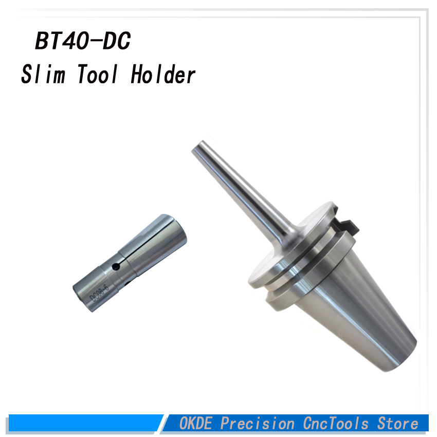 high precision BT30 BT40 DC6 DC8 DC12 60mm 90mm 120mm 150mm good quality tool holder BT DC G2.5 precision slim collet chuck