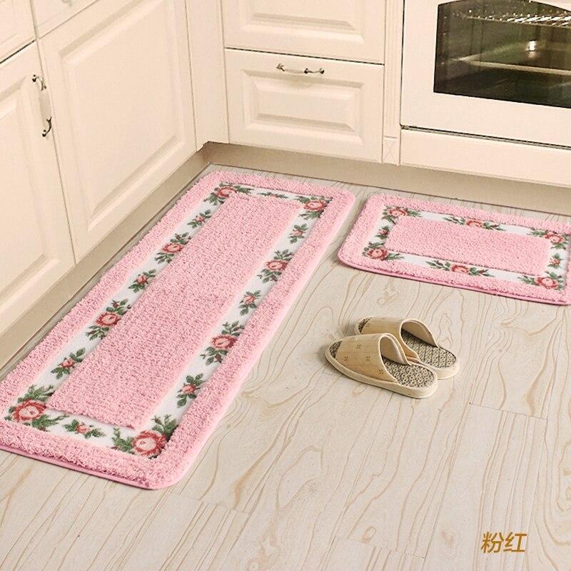 45X75 + 45X120 CM/Set absorber l'eau tapis de cuisine chambre tapis et tapis maison entrée/couloir paillasson anti-dérapant tapis de salle de bain