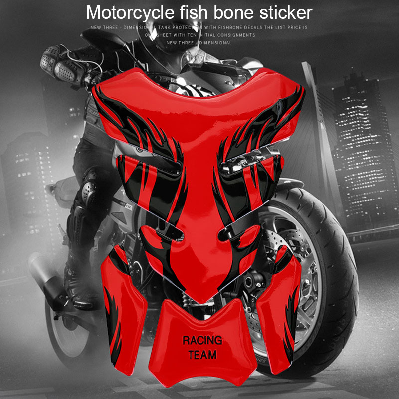 Motorcycle Sticker Gas Oil Fuel Tank Pad Protector Case Decal For Kawasaki Yamaha Toyota M8617