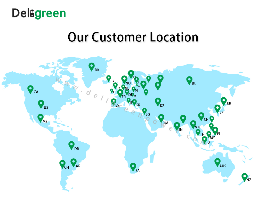 Our customer location