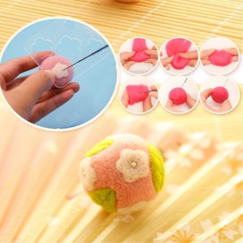 US $5 76 |Easter Bunny Prayer doll flower ball black white rabbit small  pendant wool felt novice handmade diy gift making material bag-in DIY  Package