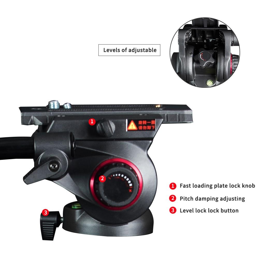 miliboo MTT702A stativ novi prijenosni 25 kg kapacitet aluminij - Kamera i foto - Foto 2
