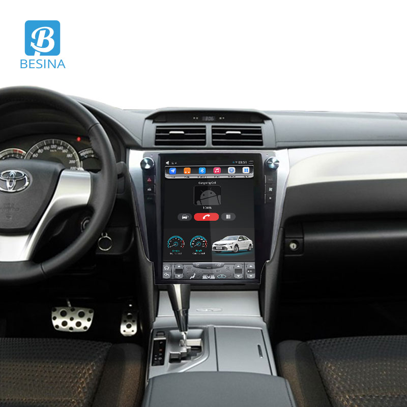 Besina 12.1 inch Android 6.0 Car Radio For Toyota Camry 2012 Multimedia Player GPS Navigation HIFI 2G+32G Stereo Auto Audio